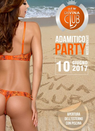 adamitico party al new divina club