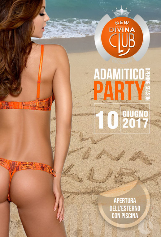 adamitico party al new divina club